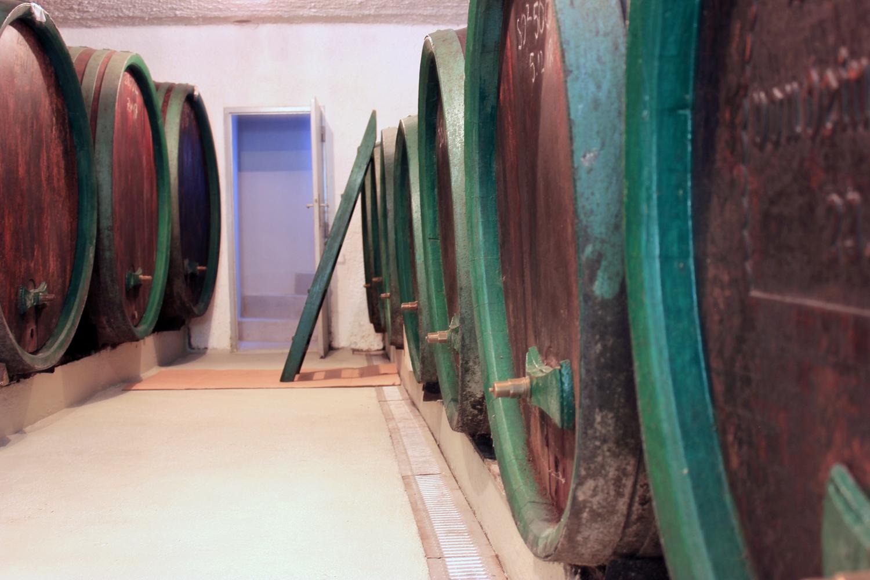 Holzfass Weinkeller 2